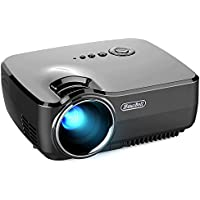 Projector, Hausbell LED Lumens 1500ANSI Luminous efficiency Portable Projector LED Mini Home Projector …