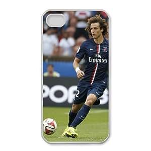 David Luiz For iPhone 4,4S Case Cell phone Case Tooq Plastic Durable Cover