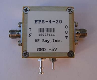Frequency Divider 0 1-20GHz Div 4, FPS-4-20, New, SMA: Amazon com