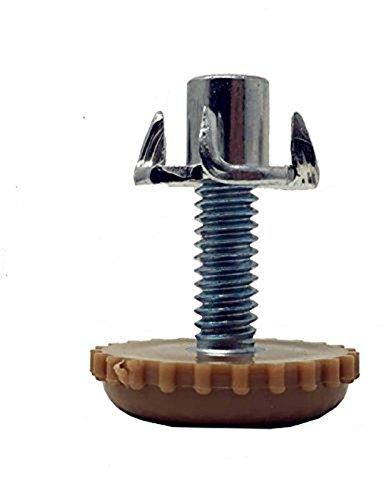 HanKun levelers T-Nut Leg Leveler(Set of 8) Adjusting foot