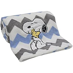Lambs & Ivy My Little Snoopy Blanket