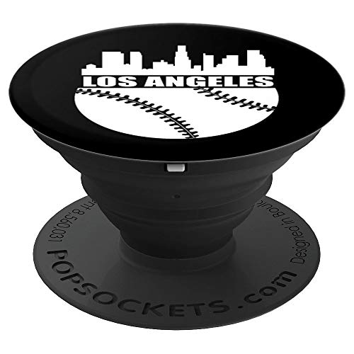 Los Angeles Shirt LA Baseball Fan Stadium PopSockets Grip and Stand for Phones and Tablets]()