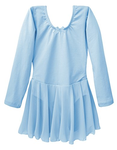 Dancina Quality Dance Clothes for Girls 8 Light Blue]()