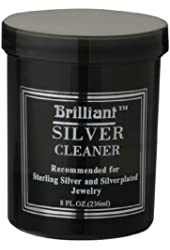 Brilliant® 8 Oz Silver Jewelry Cleaner with Cleaning Basket