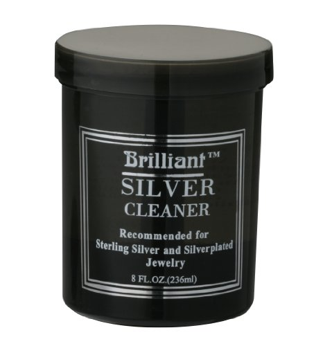 Brilliant 8 Oz Silver Jewelry Cleaner with Cleaning Basket