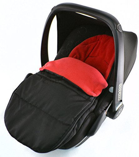 Autositz Fuß sack/COSY TOES kompatibel mit Bebecar Easy Maxi New Born Autositz Fire Rot For-Your-Little-One