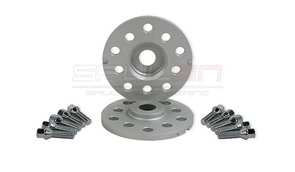 Amazon.com: Spulen Wheel Spacer & Bolt Kit- 10mm with Ball Seat Bolts: Automotive
