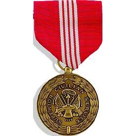 United States Military Full Medal - US Civilian - Army Superior Service Civilian Service Medal