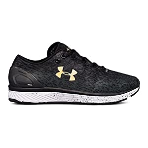 Under Armour Women's Charged Bandit 3 Ombre, Black/Anthracite/Tile Blue, 9.5 B(M) US