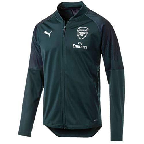 Arsenal Navy Verde Blu 19 FC Jacket Stadium 2018 Puma qgEFpF