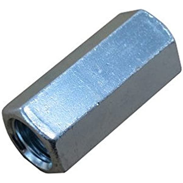 1//4-20 X 4 Zinc Plated Threaded Rod Studs Pack of 12