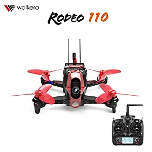 Walkera Rodeo 110 FPV Racing Quadcopter Rodeo 110 RTF Rodeo 110 RTF1 with Devo 7 FPV Camera F3 Main Controller Battery Charger Kit