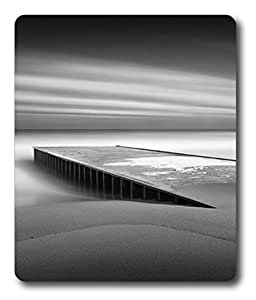 best mouse pads for gaming Pier In Mist PC Custom Mouse Pads / Mouse Mats Case Cover
