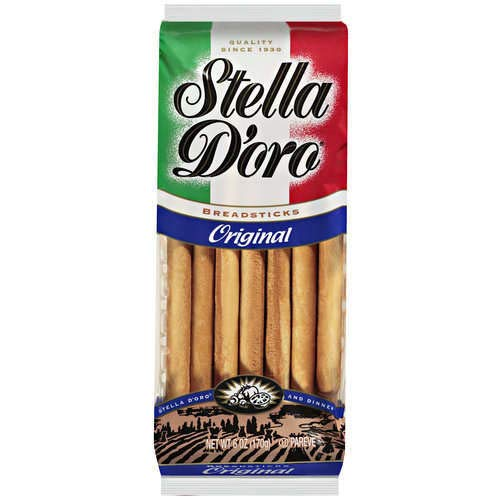 Stella D'oro Breadsticks, Original, 6 Ounce (Pack of 12)