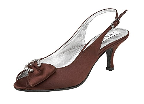mujer NADYA de Z027 Marrón marrón Zapatos para claro vestir LEXUS UYCqwFR