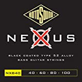 Rotosound NXB(40 Nexus Coated Bass Guitar Strings (40 60 80 100)