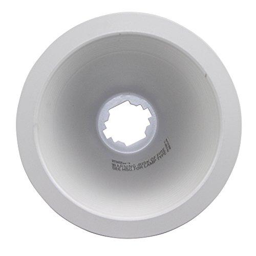 (Capri Lighting Par 30 R30 White Baffle Incadescent & Fluorescent Recessed Trim; White)
