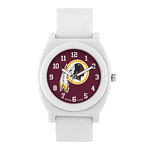 NFL Washington Redskins Mens Fan Series Wrist Watch, White, One Size ()