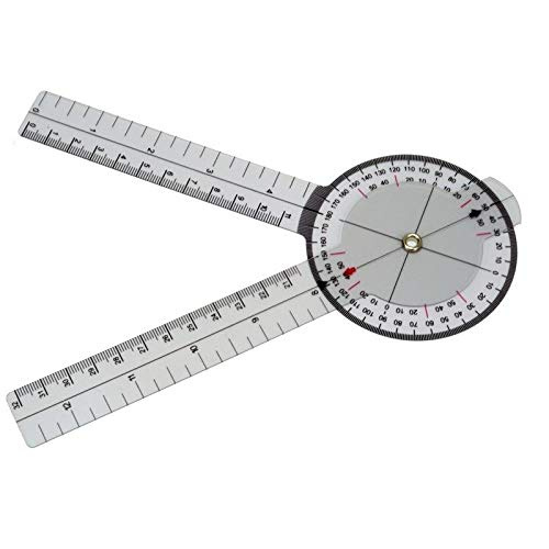 Msleep calibrado, 33 cm, 360 Grados Goni/ómetro Medical
