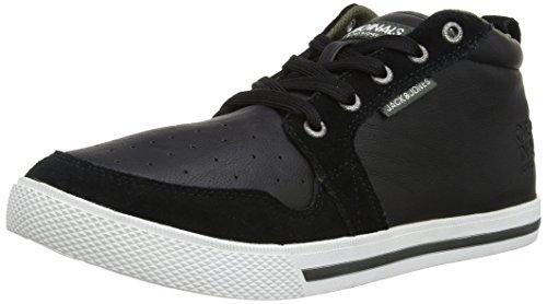 JACK & JONES Jj Juno Mixed Casual High Org, Herren High-Top Sneaker Schwarz (Black)