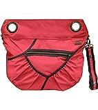 Stylish Stroller Organizer Bag - Beautiful Lightweight Fabric - Multiple Design Available (Chilli Tangerine (00217))
