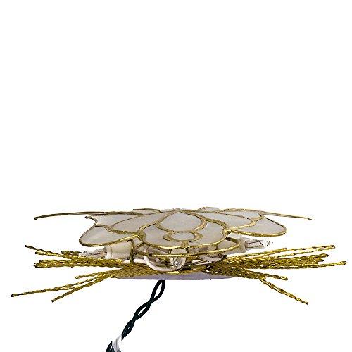 Kurt Adler 10-Inch Capiz Angel with Twisted Wire Treetop by Kurt Adler (Image #6)