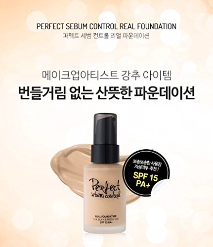 Touch In SOL Advanced Real Moisture Liquid Foundation SPF30 PA++ 1.01 fl. oz. (30ml) - A Light Weight Hydrating Foundation (#21 Nude Beige)
