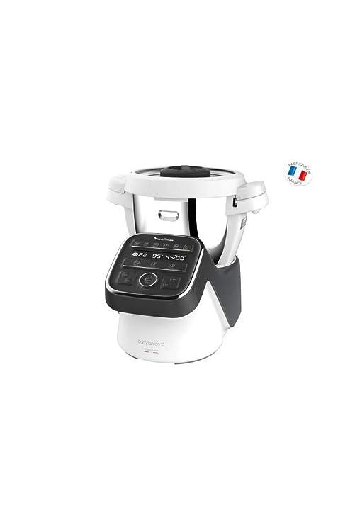Moulinex Robot Cuiseur Companion XL Gris Noir 1550W 4,5L HF808800 ...