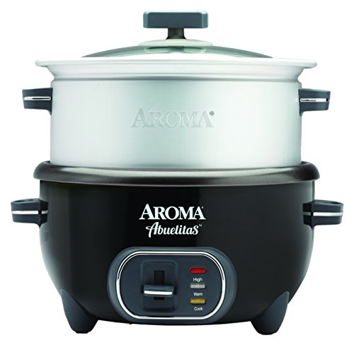 Aroma Housewares SRC-1020-1BT Aroma Housewares Abuelitas Specialty Rice Cooker, Black (Rice Cooker One Person compare prices)