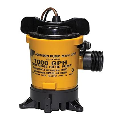 Amazon johnson pumps of america 32102 marine 1000 gph cartridge johnson pumps of america 32102 marine 1000 gph cartridge style bilge pump publicscrutiny Image collections