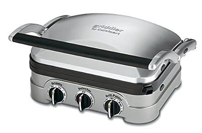 Cuisinart GRGriddler, Stainless Steel
