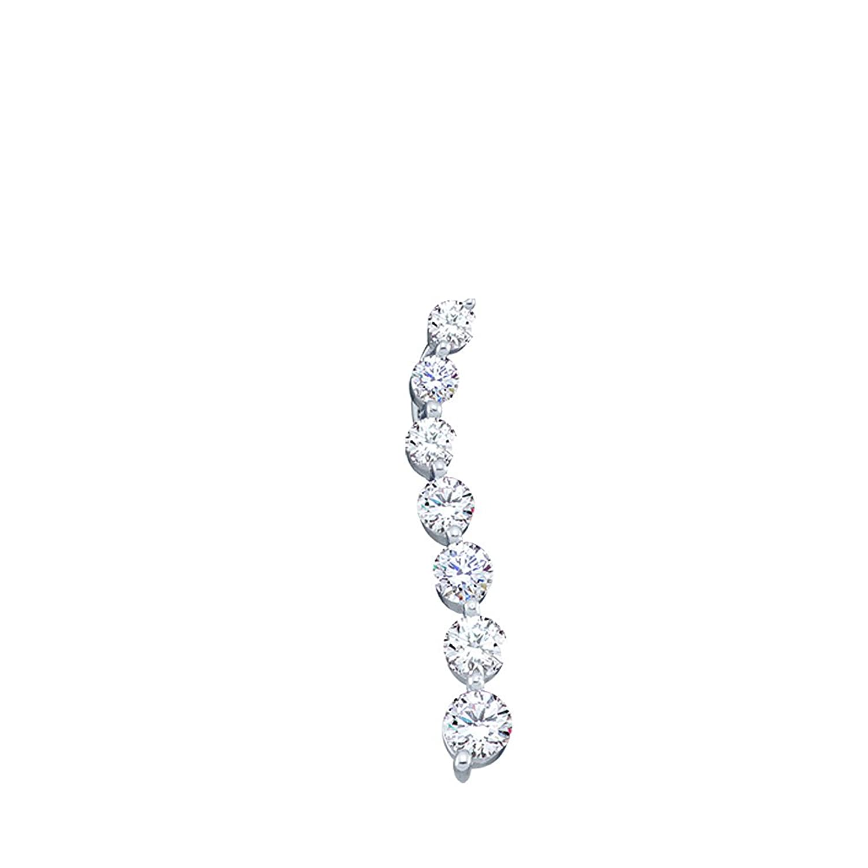 1/4 cttw. Round Diamond Ladies Journey Fashion Pendant 10K Yellow Gold