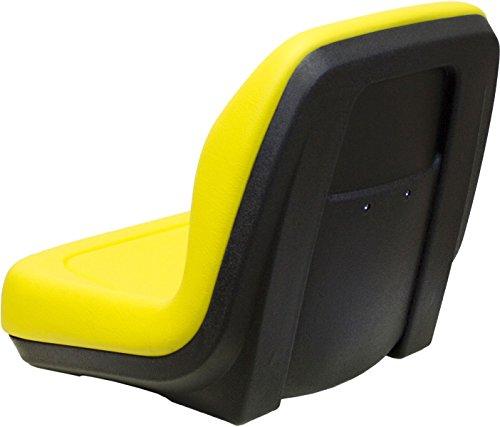 MILSCO Yellow Seat Fits John Deere 5105 & 5205 Farm Tractors #BV