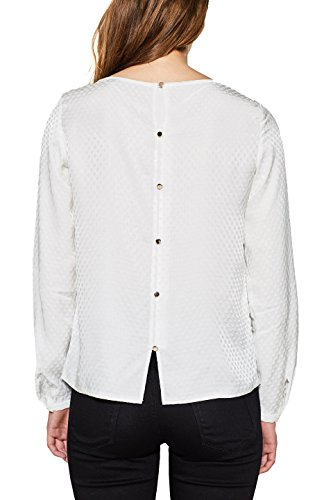 110 off Mujer Esprit Collection Blusa Para White Blanco qnCRv7x