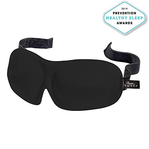 Bucky 40 Blinks No Pressure Beauty & Travel Eye Masks, Black