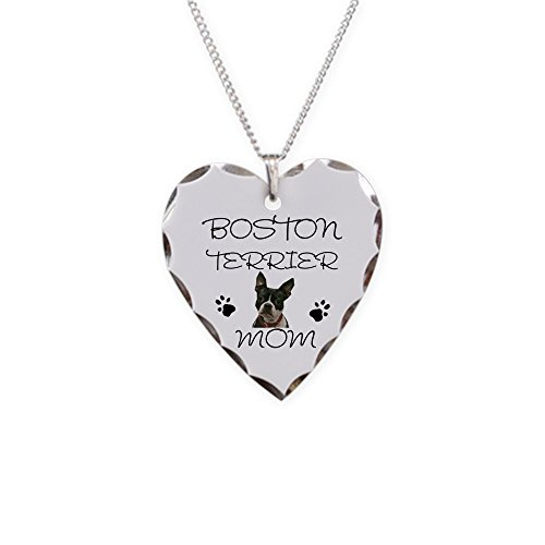 CafePress Boston Terrier Necklace Pendant