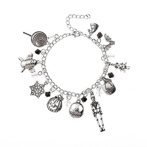 Dark Christmas Halloween Horror Nights (lureme Halloween Night Horror Link Bracelet for Fans)