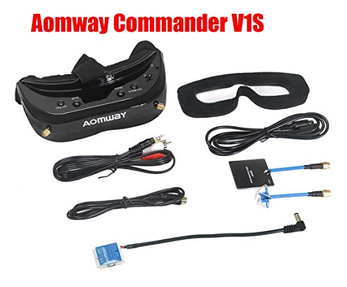 2019 Newest Version! Aomway Commander V1S Diversity 3D 64CH 5.8G