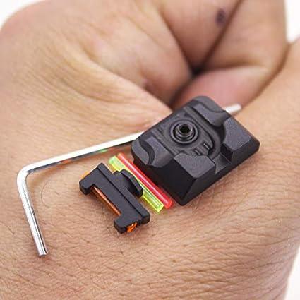 Amazon.com: Reloj de combate frontal y trasero de fibra ...