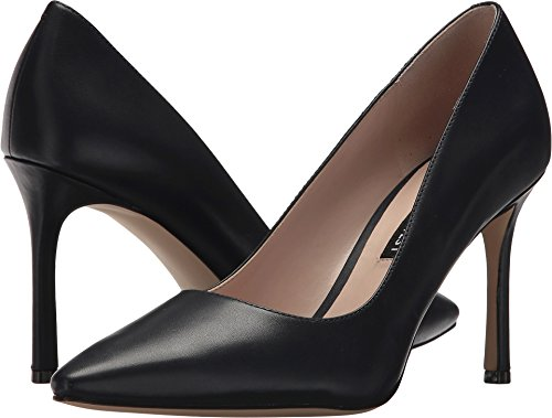 Pump Navy Leather - Nine West Women's Emmala Pump Navy Leather 6.5 M US M