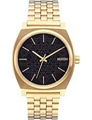 NEW Nixon Time Teller Watch Gold Black Stamped