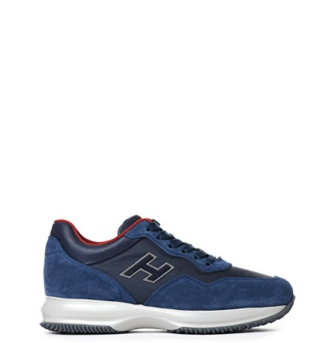 Hogan Sneakers Uomo HXM00N0U410FJ8125E Camoscio Blu
