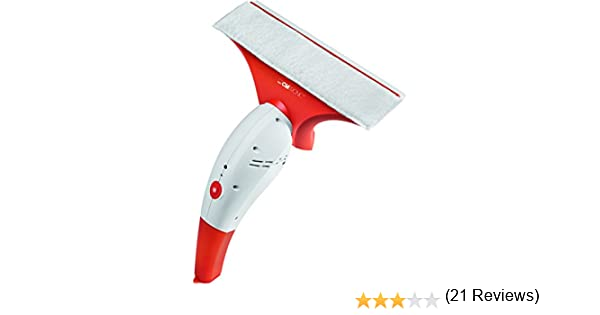Clatronic 263605 Aspirador de ventanas y limpiacristales sin cable, Blanco y naranja: Clatronic: Amazon.es: Hogar