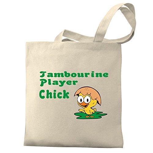Eddany Tambourine Player chick Bereich für Taschen
