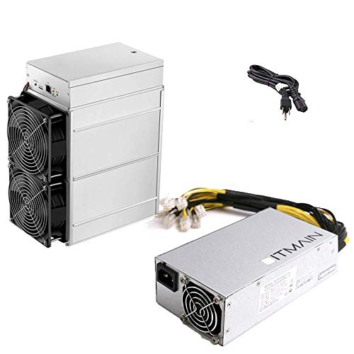Bitmain Antminer Z11e 65K Sol/s Asic Miner, Zcash ZEC Equihash Miner, 1250W Include APW7 1800W PSU and Power Cords