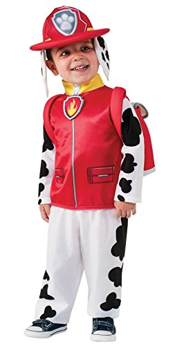 UHC Boy's Paw Patrol Marshall Theme Outfit Toddler Child Halloween Fancy Costume, Child S (4-6)