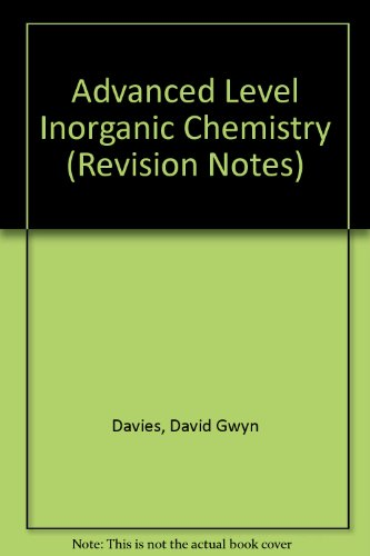 a level inorganic chemistry notes pdf