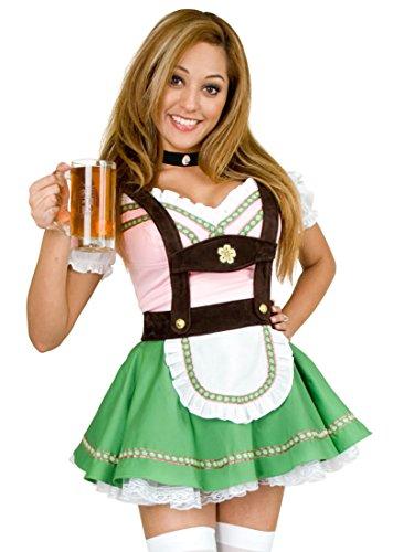 Bavarian Beer Garden Girl Adult Costume - -
