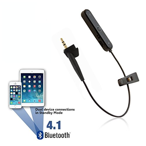 [REYTID] Wireless Bluetooth Adapter for Bose Around-Ear 2 / AE2 / AE2i & AE2w Headphones - Converter Receiver Earphones - Convert Wired to Wireless!