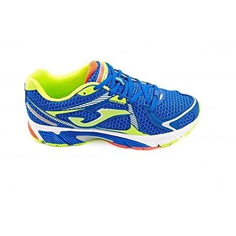 Joma - Zapatillas Running Carrera 405 Azul Fluor Size: 44: Amazon.es: Zapatos y complementos